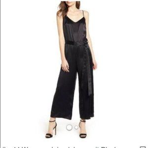NWT Bailey 44 Juiced Cropped Wide Leg Jumpsuit 6